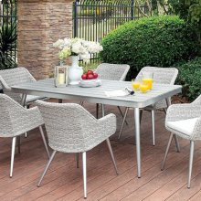 Shivani Patio Dining Table