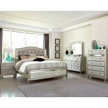 Bling Game Metallic Queen Bed