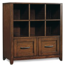 Home Office Wendover Utility Bookcase Pedestal