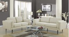 Colton Beige Loveseat