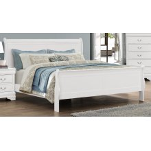 LP Grey Queen Bed
