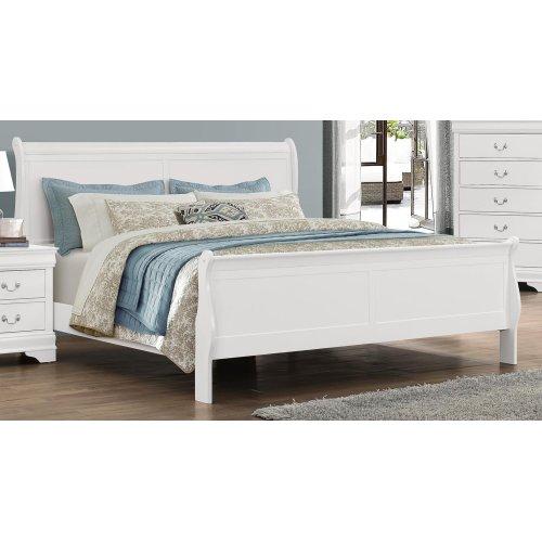 LP Grey Queen Bed