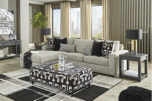 2 PC LAF Chaise Sectional