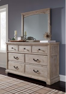 Charmyn - Whitewash 2 Piece Bedroom Set