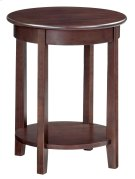 """CAF McKenzie Round Accent Table (19-1/2""""D) Product Image"""