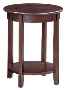 "CAF McKenzie Round Accent Table (19-1/2""D)"