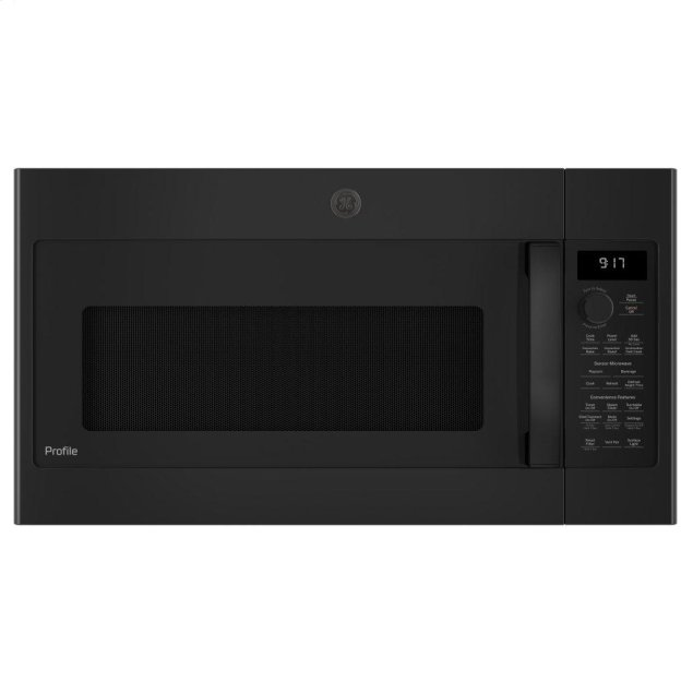 GE Profile 1.7 Cu. Ft. Convection Over-the-Range Microwave Oven