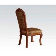Side Chair W/fabric Back-cushn