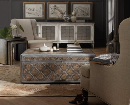 Living Room Arabella Trunk Cocktail Table