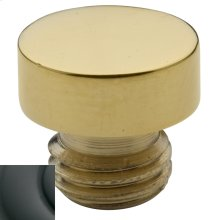 Oil-Rubbed Bronze Button Finial