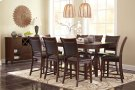 Collenburg - Dark Brown 6 Piece Dining Room Set Product Image
