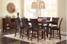 Collenburg - Dark Brown 6 Piece Dining Room Set
