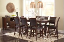 Collenburg - Dark Brown 6 Piece Dining Room Set