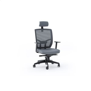 Bdi FurnitureTc 223dhf Office Chair Fabric Seat in Grey