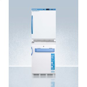 SummitStacked Combination of Ars6pv All-refrigerator and Vt65mlbimed2 Manual Defrost All-freezer for Vaccine Storage