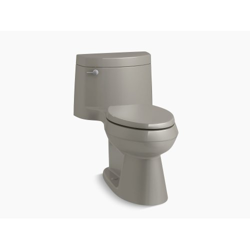 Cashmere Comfort Height One-piece Elongated 1.28 Gpf Toilet With Aquapiston Flush Technology, Left-hand Trip Lever and Concealed Trapway