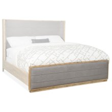 Bedroom Urban Elevation 5/0 Upholstered Shelter Footboard