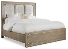 Bedroom Modern Romance King Panel Bed