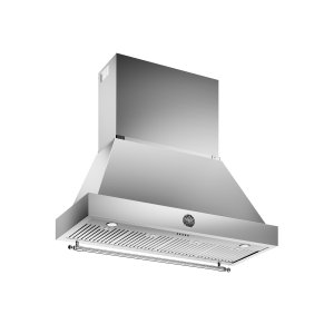 48 Wallmount Canopy and Base Hood, 1 motor 600 CFM Stainless Steel - STAINLESS STEEL