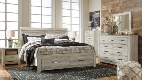 Bellaby - Whitewash 2 Piece Bedroom Set