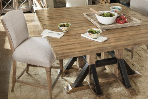 Dining Room Roslyn County Square Dining Table