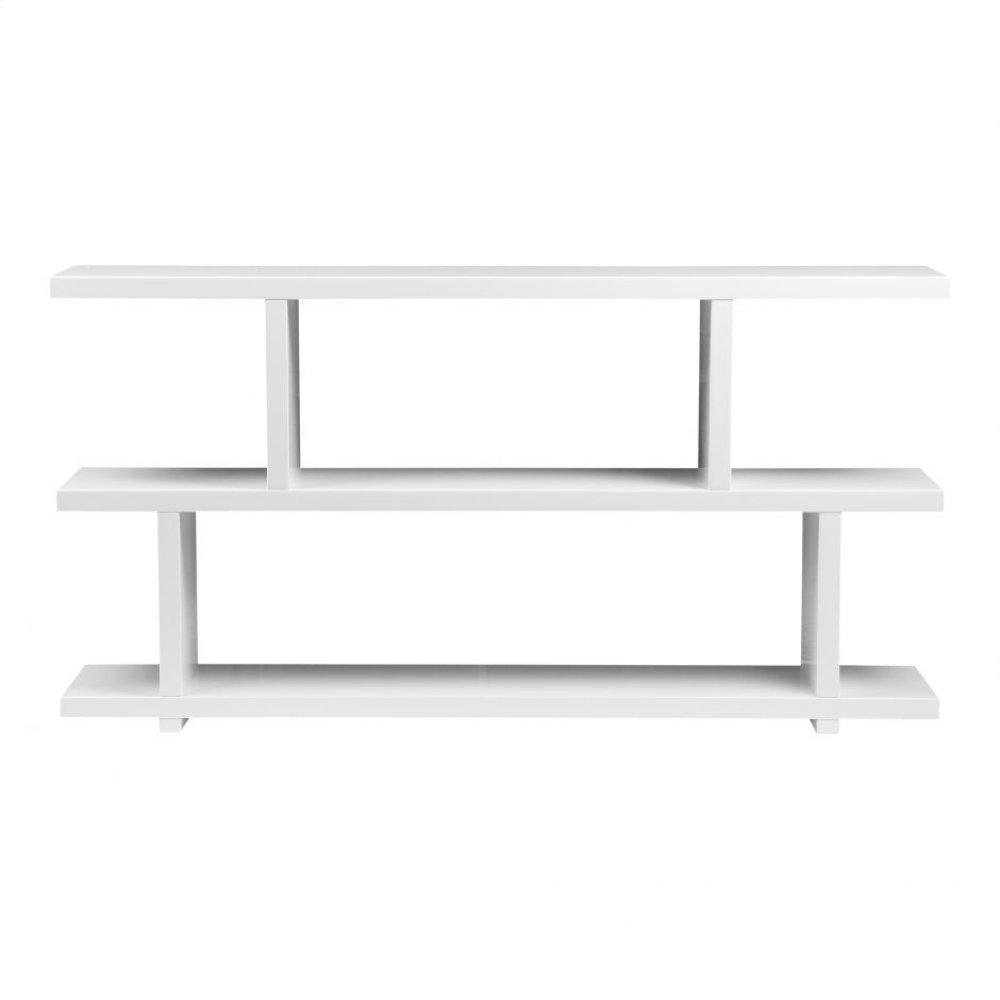 Miri Shelf Small White