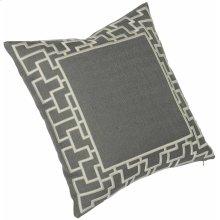 "Luxe Pillows Organic Fretwork (23"" x 23"")"