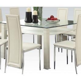 Riggan Cream Dining Table Hidden