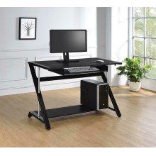 Contemporary Black Computer Desk