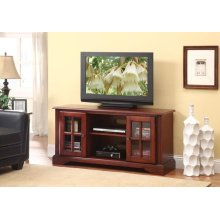 CHERRY FINISH TV STAND