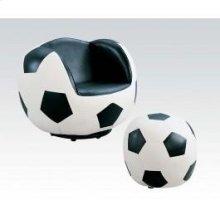 2pc Pk Soccer Chair , Ottoman