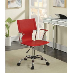 CoasterContemporary Red Office Chair