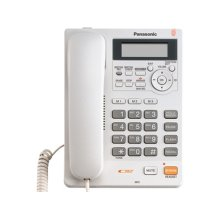 Integrated Telephone System with All-Digital Answering System, White