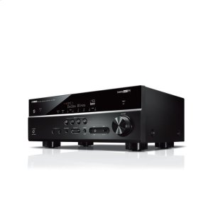 YamahaRX-V585 Black 7.2-Channel AV Receiver with MusicCast