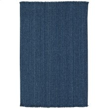 Hampton Denim Blue Flat Woven Rugs
