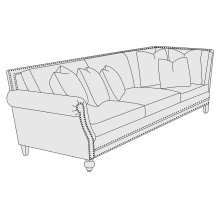 Brae Left Arm Sofa in Mocha (751)