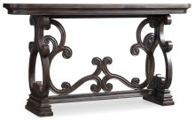 Living Room DaValle Scroll Console