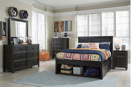 Jaysom - Black 4 Piece Bed Set (Full)