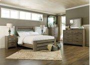 Zelen - Warm Gray 3 Piece Bed Set (Queen) Product Image