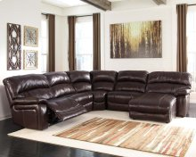 Damacio - Dark Brown 5 Piece Sectional