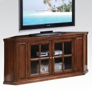 OAK CORNER TV STAND Product Image