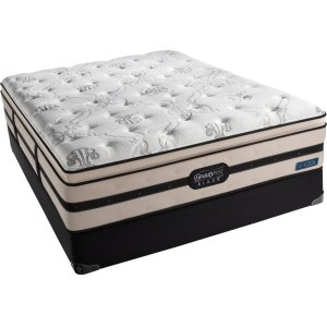 SimmonsBeautyrest - Black - Brooklyn - Plush Firm - Pillow Top - Cal King