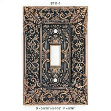 Glendale Single Toggle Light Switch Cover