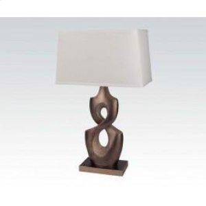 "28""h Table Lamp Bs/sh"