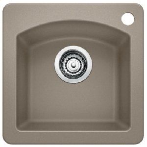 Blanco Diamond Bar Sink - Truffle