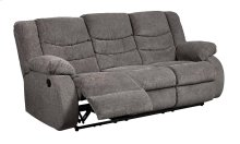 98606 Tulen Gray Reclining Sofa Only
