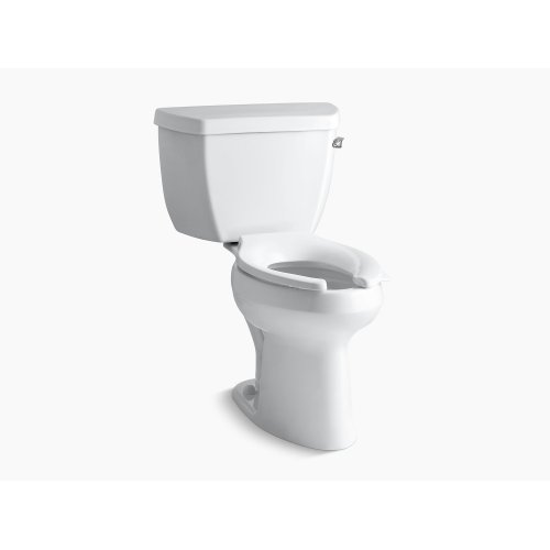 Black Black Comfort Height Two-piece Elongated 1.0 Gpf Toilet With Pressure Lite Flush Technology and Right-hand Trip Lever