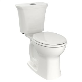 Edgemere Right Height Round Front Dual Flush Toilet  American Standard - White
