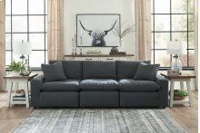 Savesto - Charcoal 4 Piece Sectional