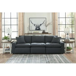Ashley Furniture Savesto - Charcoal 4 Piece Sectional